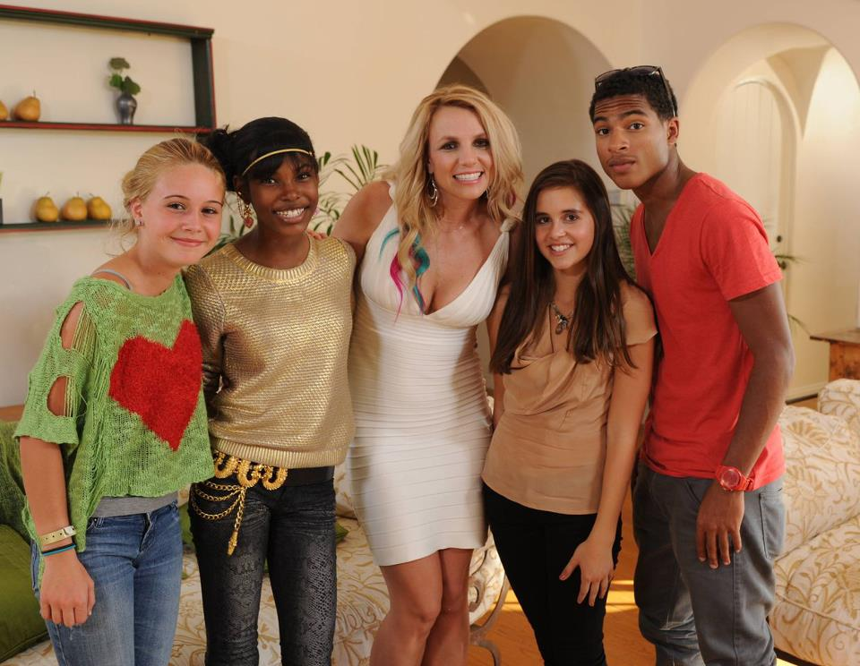 Britney Spears X Factor Teens