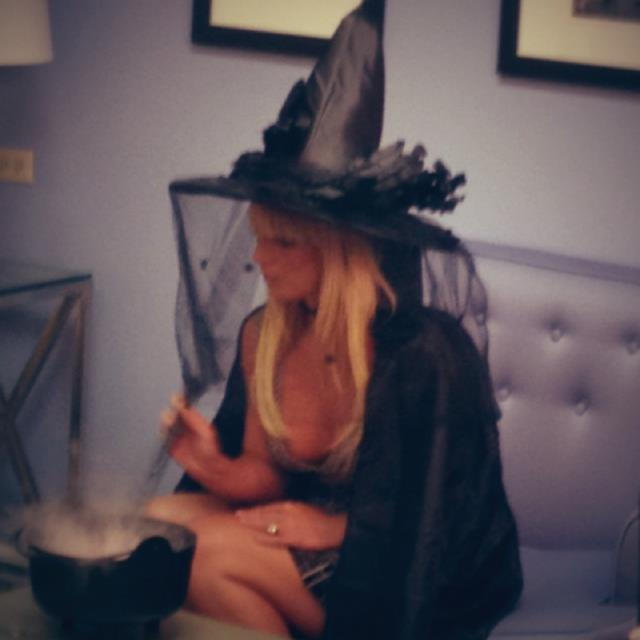 Britney Halloween Costume Witch