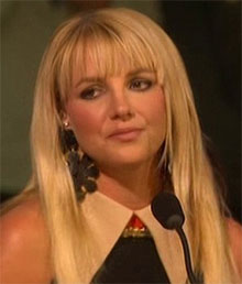 Britney Spears X Factor Crying